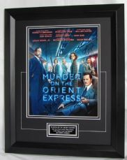 MOTOEEBF MURDER ON THE ORIENT EXPRESS - CAST SIGNED